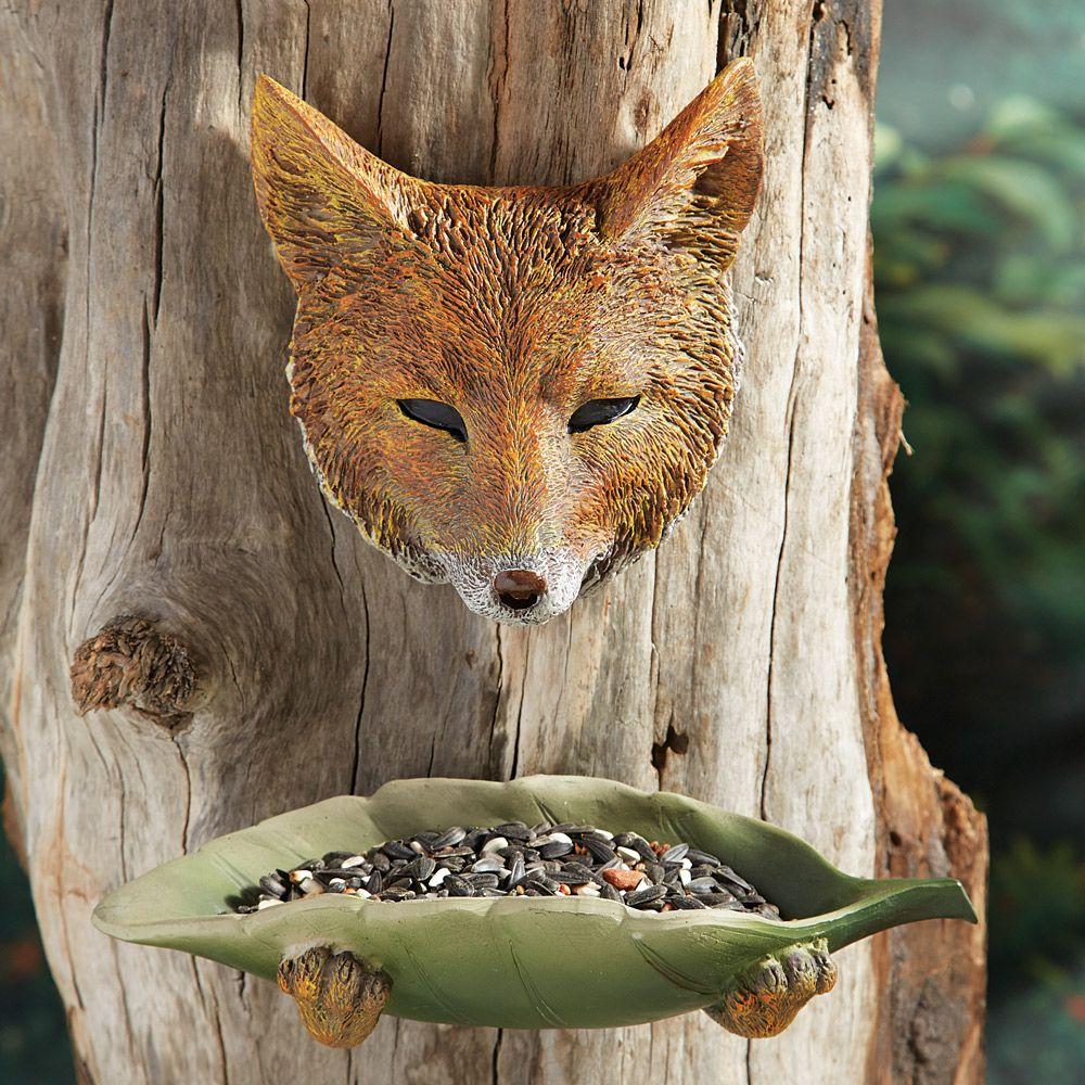 Fox Tree Face Bird Feeder Clearance Ideas For The House