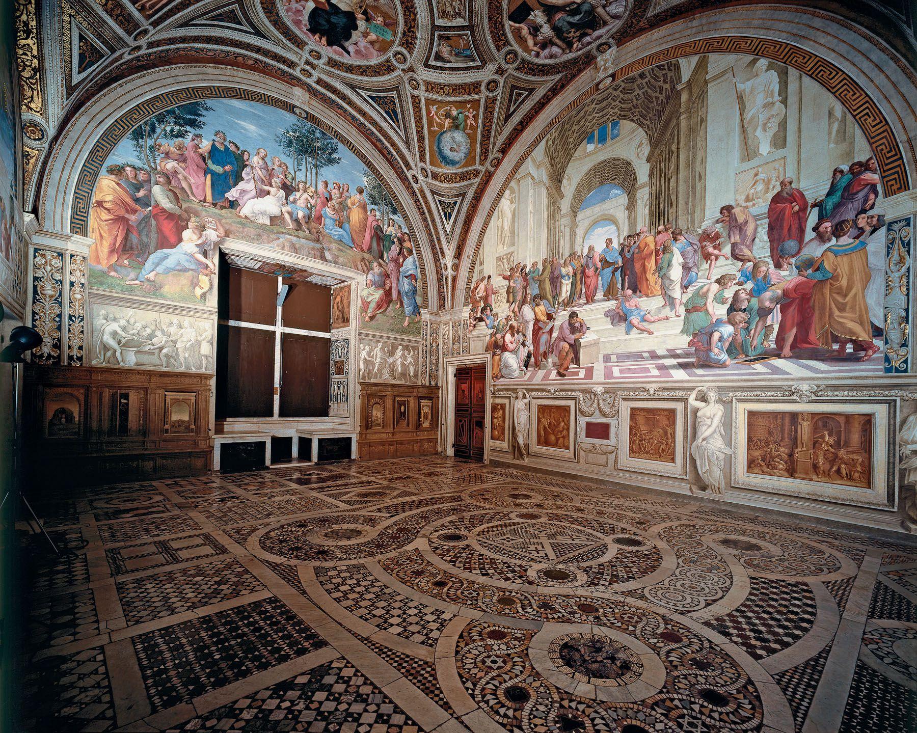 Image result for Stanze di Raffaello