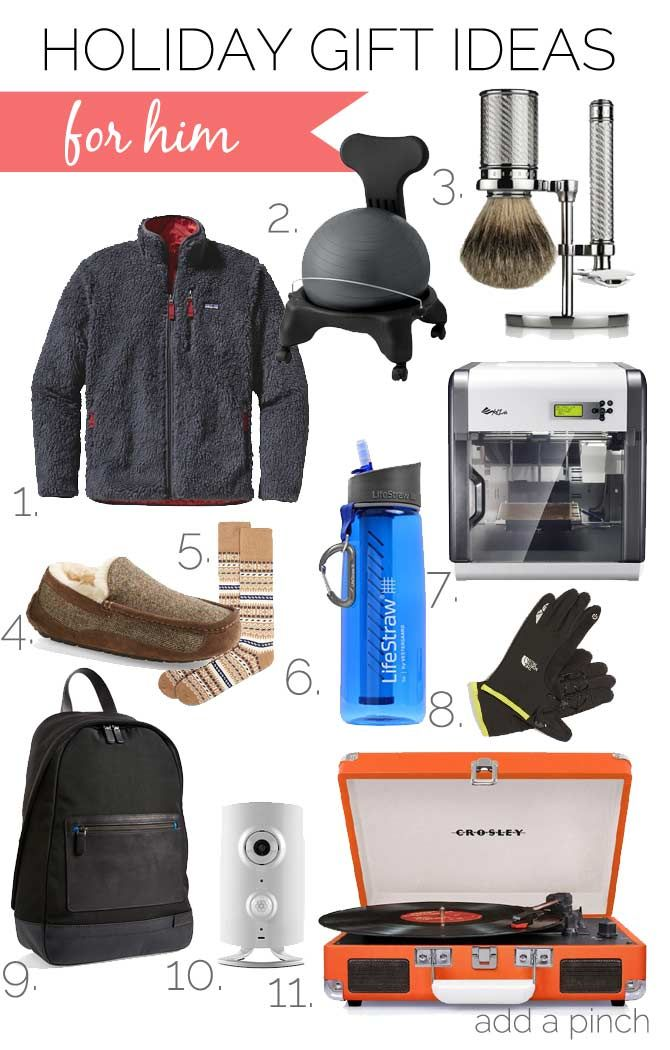 Marvelous Christmas 2014 Gift Ideas For Men Part - 10: Holiday Gift Ideas For Him 2014 From Addapinch.com