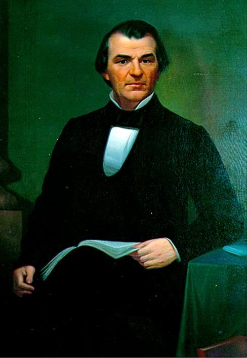 Andrew Johnson about 1860