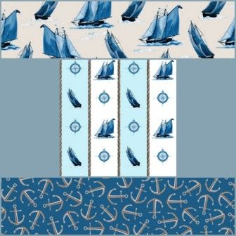 2016 March Madness Fabric Sale - Sail Away Fabric