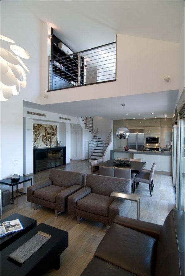 weiße gestaltung und schicke möbel für ein modernes wohnzimmer - Wie ...