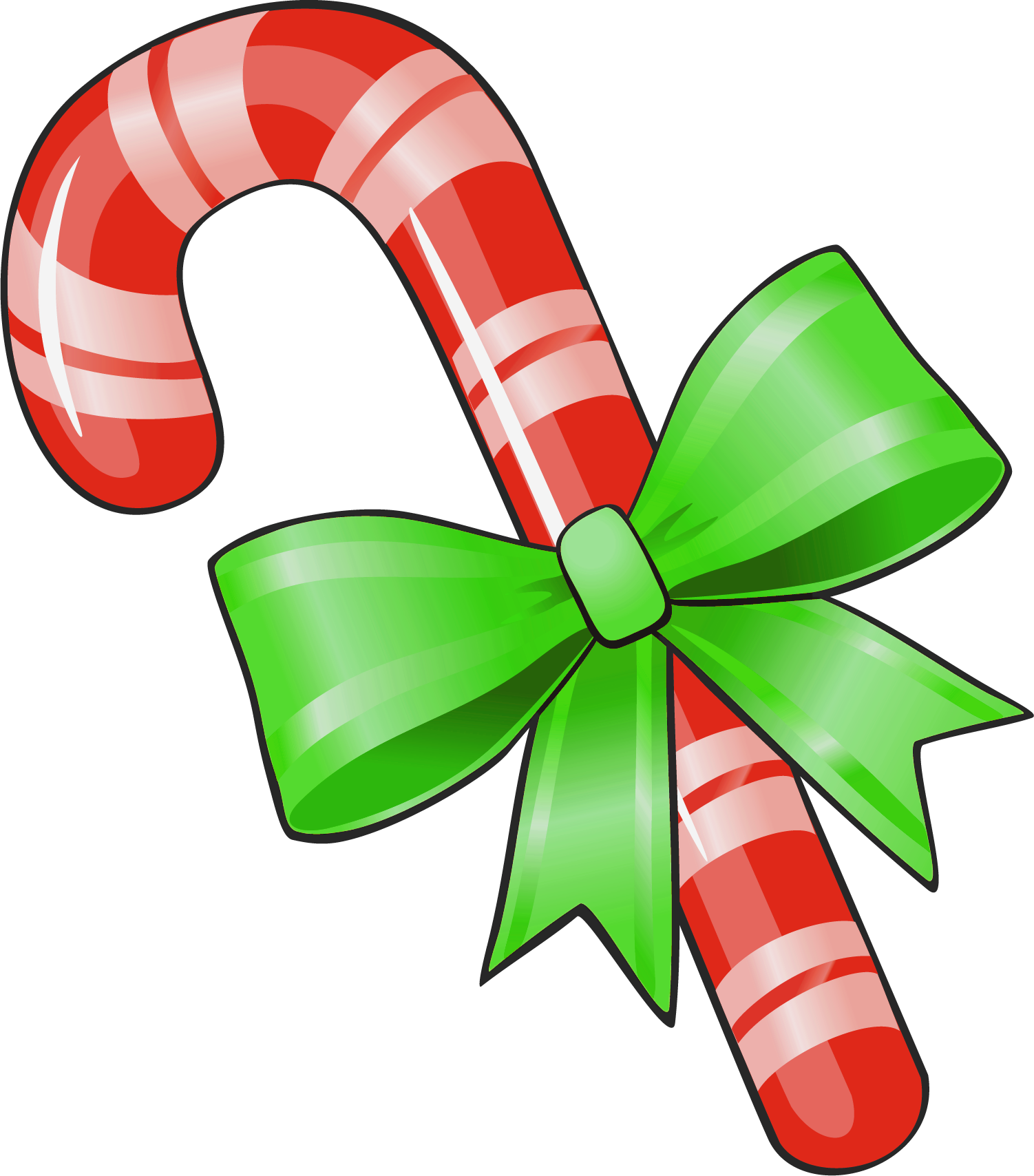 Candy cane christmas clip art free clip art images free