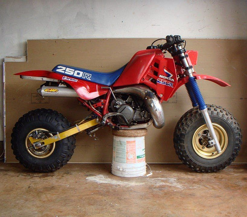 Atc Daily On Instagram Hondas Atc250r With A Bolt On Missile Engineering Big Wheel Kit Hondahoarders Bigwheel Missilekit Atc Atv Big Wheel Atc Honda