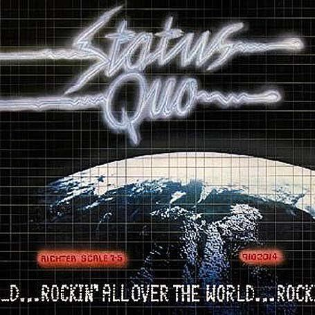 Rockin All Over The World Status Quo Music Group Pinterest