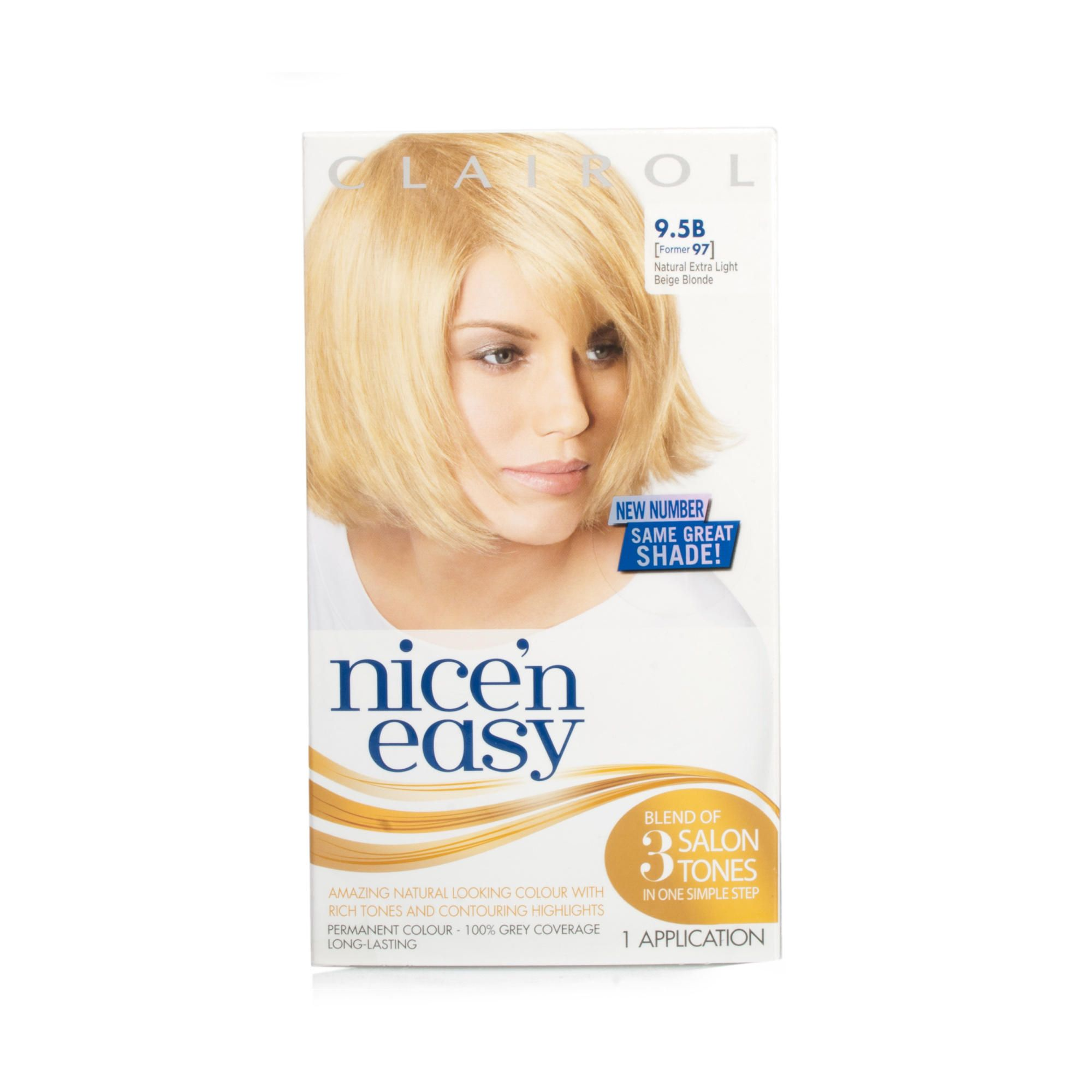 Clairol Nice N Easy Extra Light Beige Blonde Perm Colour 10b