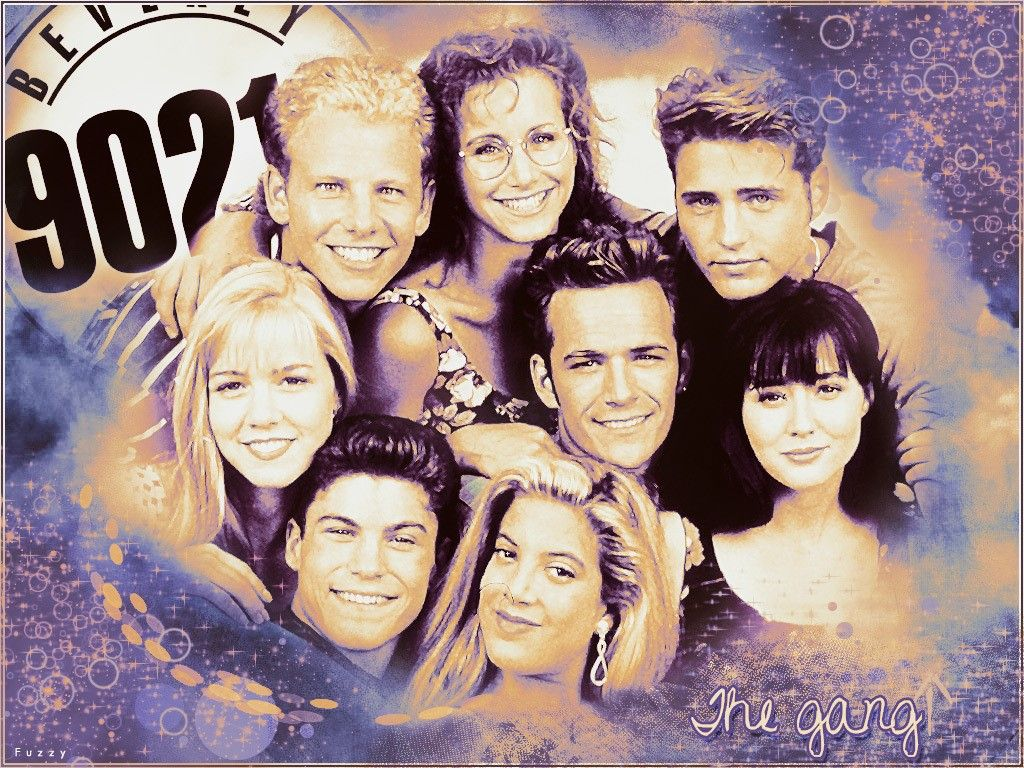 """The secrets of """"Beverly Hills, 90210"""" in its first four"""