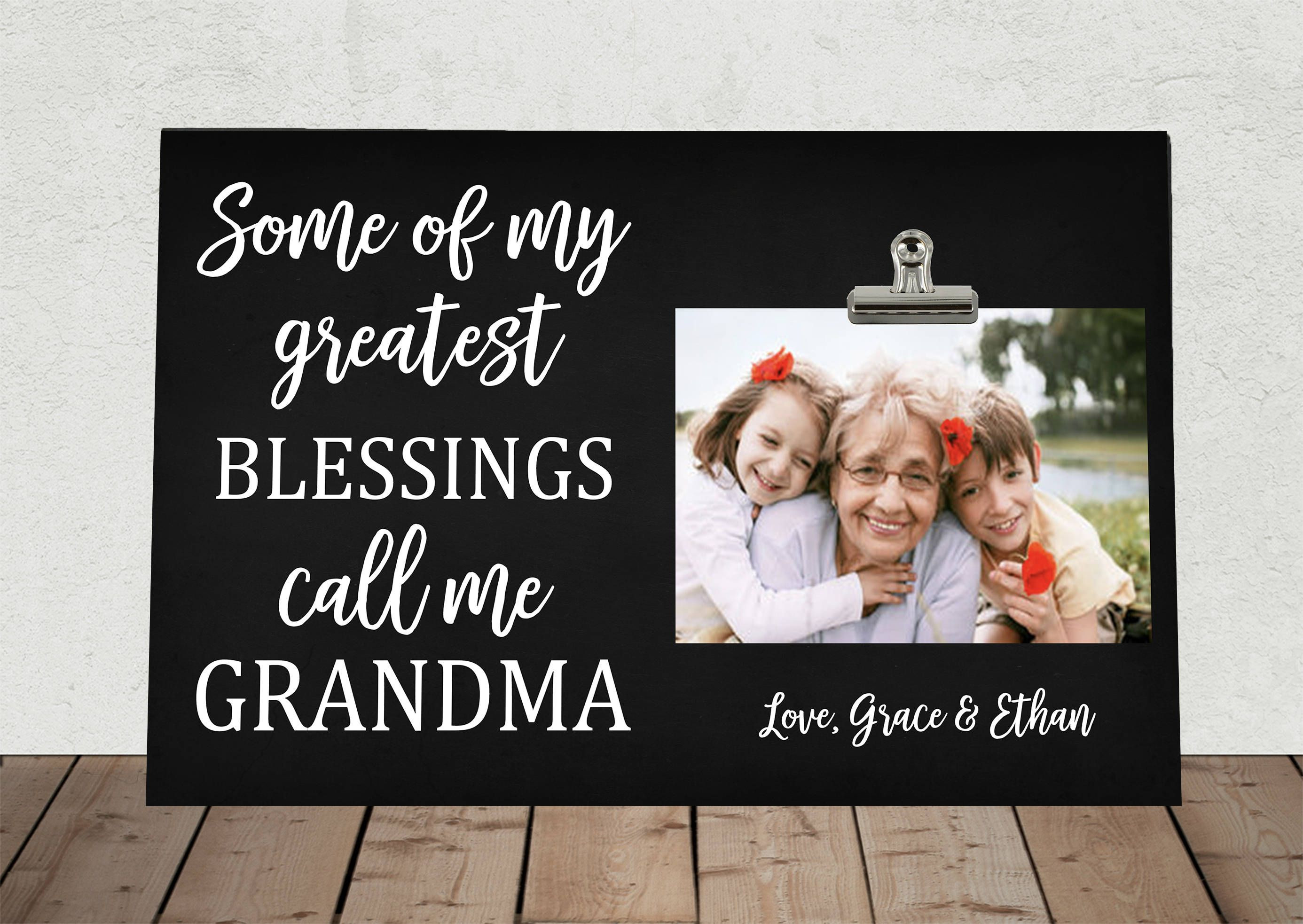 Gift for GRANDMOTHER, MOTHERS Day, Some of my Greatest blessings ...