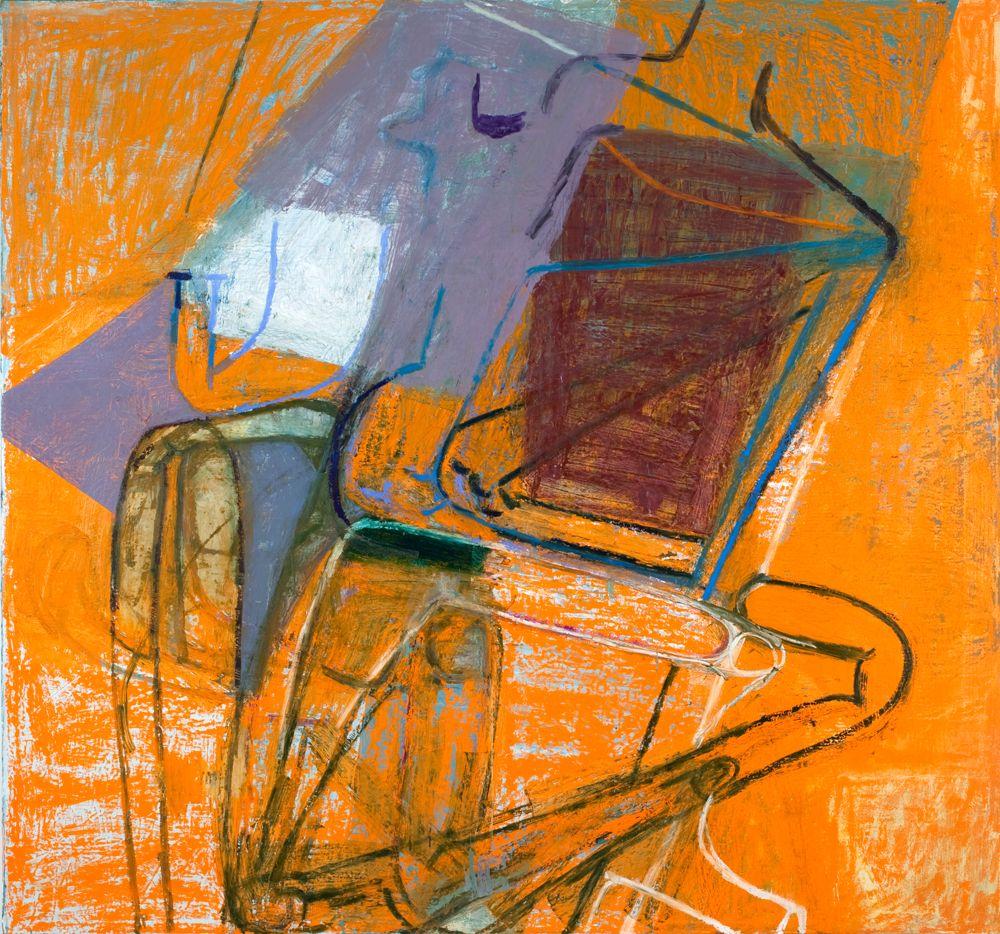 "lawrenceleemagnuson: ""Amy Sillman (USA b. 1955) Junker I (2009) oil on canvas 214.9 x 229.9 cm http://www.amysillman.com/ """