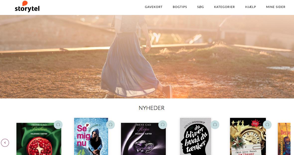 Jeg er Buzzador og medvirker (ulønnet) i en kampagne for hjemmesiden Storytel.    Jeg tager gerne opvasken - hvis jeg kan bruge Storytel og høre min bog i fred :-)