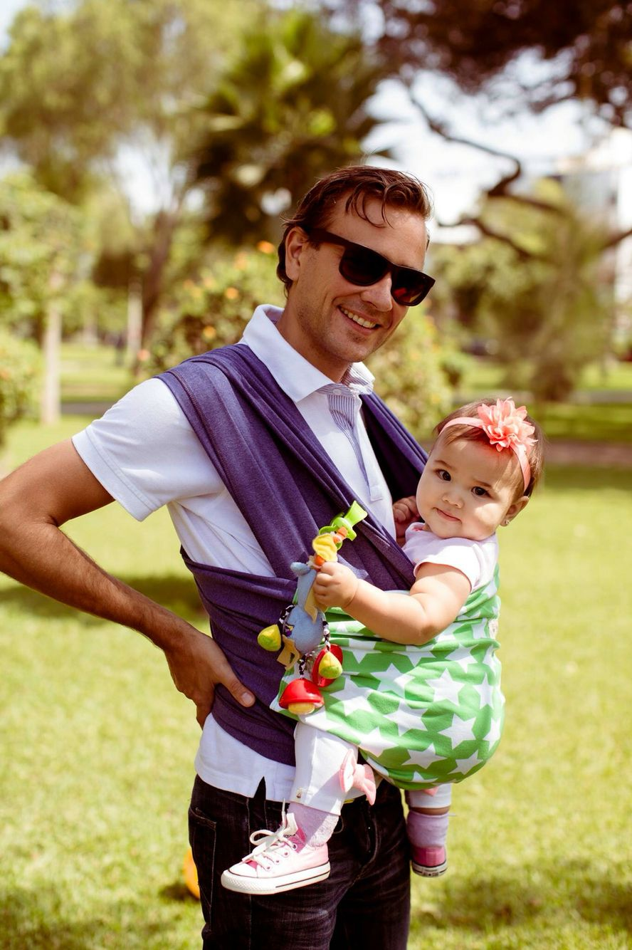 Crianza con apego @kinderwelt | Fular Portabebés | Pinterest