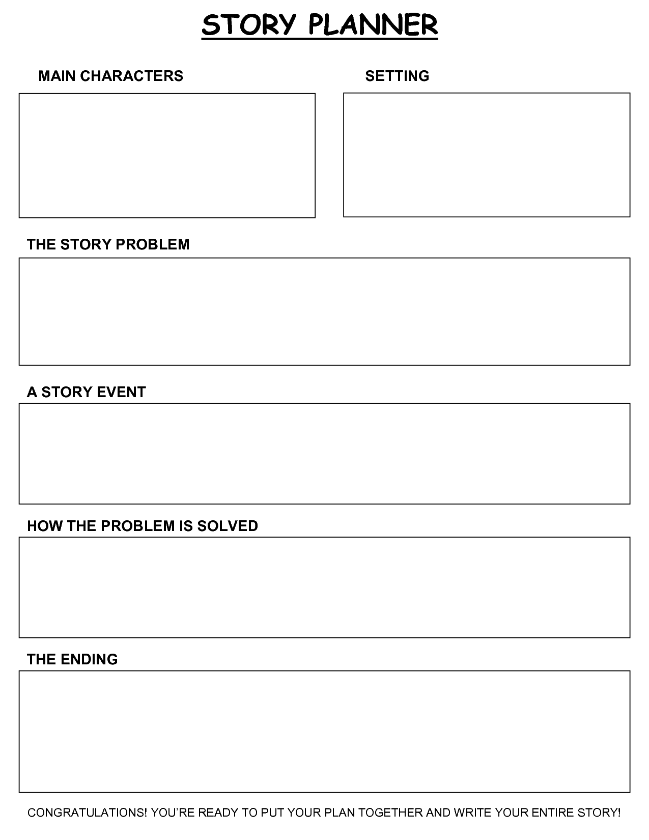 6+ Story Outline Templates