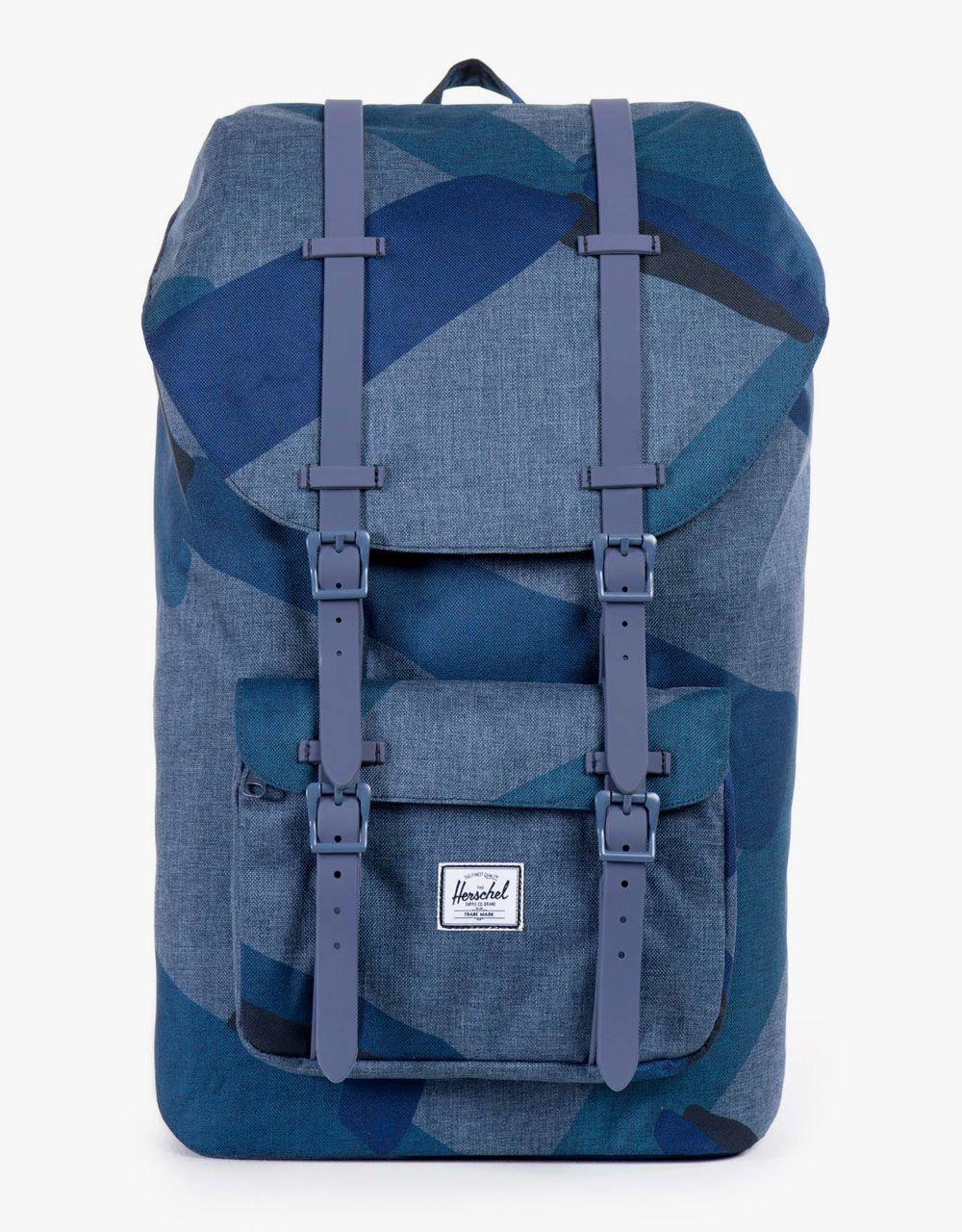 aa1e2d8994c Herschel Supply Co. Little America Backpack - Navy Portal Navy Rubber