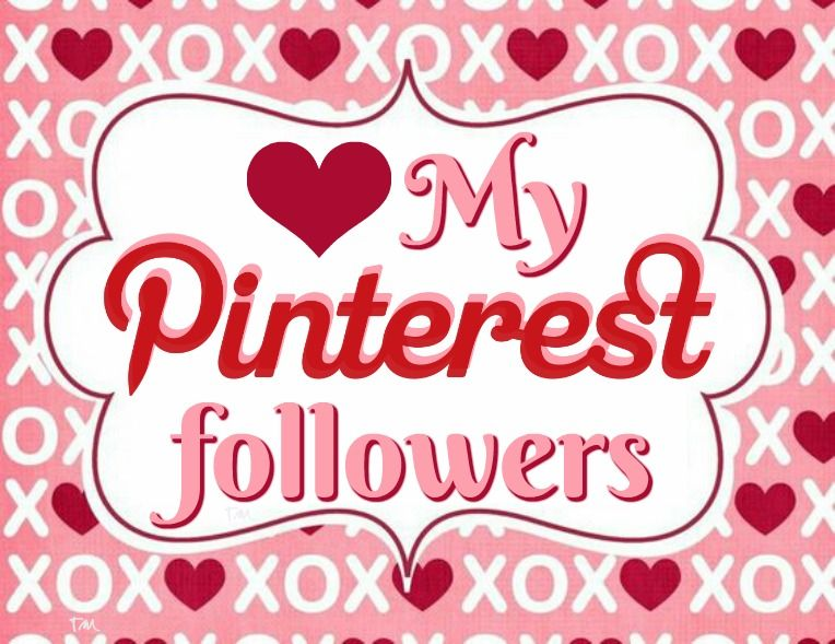 Love My Pinterest Followers ♥ Tam ♥ Be My Valentine ♥ Goodies   Who Is My