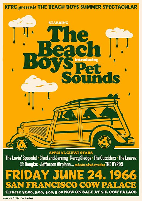 the beach boys music concert posters