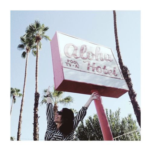 ALOHA! Palm Springs CA  by @vontrueba on...