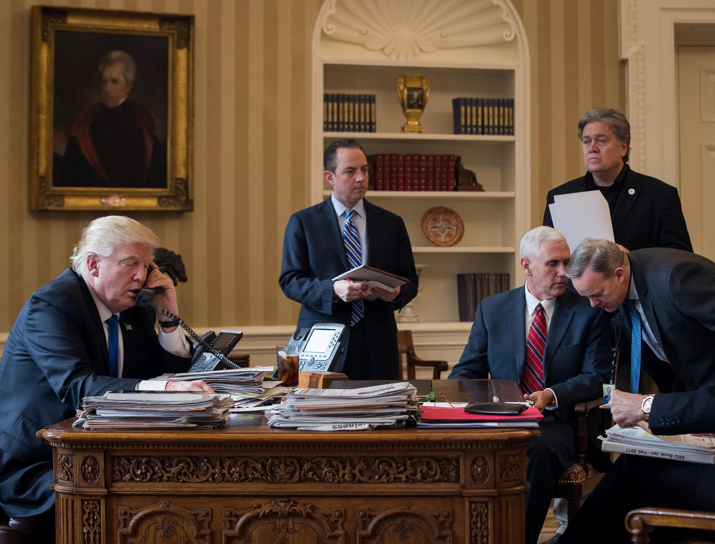 Trump Team Accused Of Treason Over New Russian Contact Allegations New Claims Come After President S Aides De Inside The White House White House Staff Trump