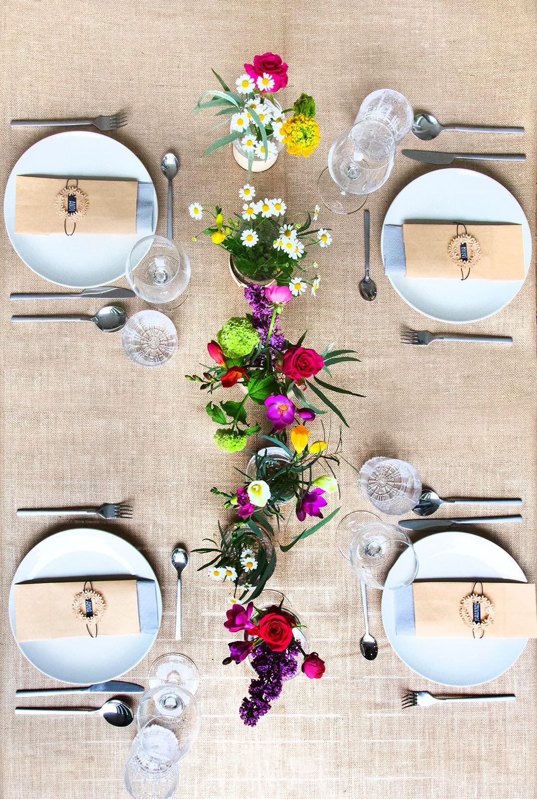 Photo of Sommerliche Tischdeko und Platzkarten