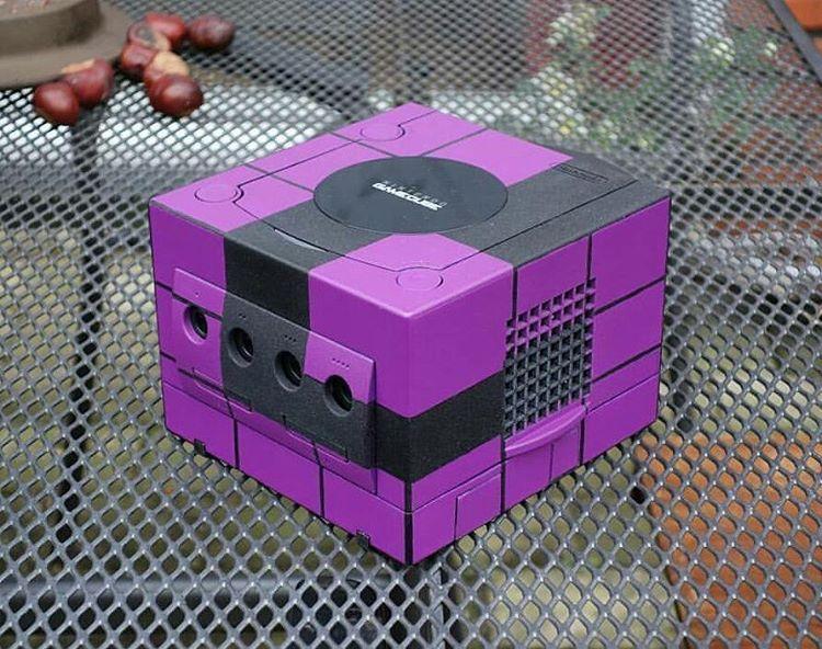 Nintendo Gamecube logo customized Gaming gifts, Custom
