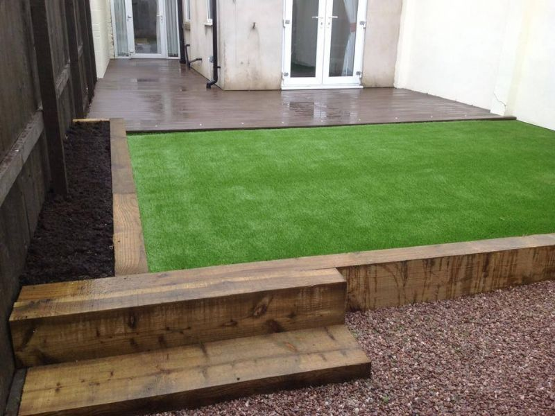 Image Result For Astroturf And Sleepers Garden Design Images Astro Turf Garden Artificial Turf