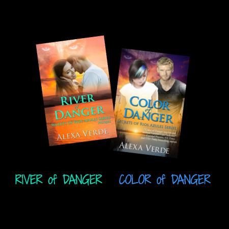 GIVEAWAY! River of Danger & Color of Danger ebooks by Alexa Verde, giveaway ends 6/10/15.