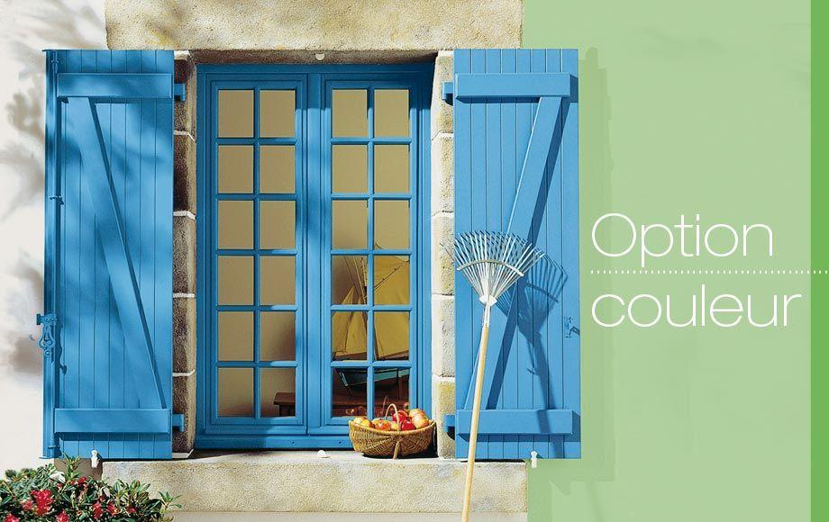 Volet Bois Couleur Lapeyre Volet Bois Volet Design Exterieur