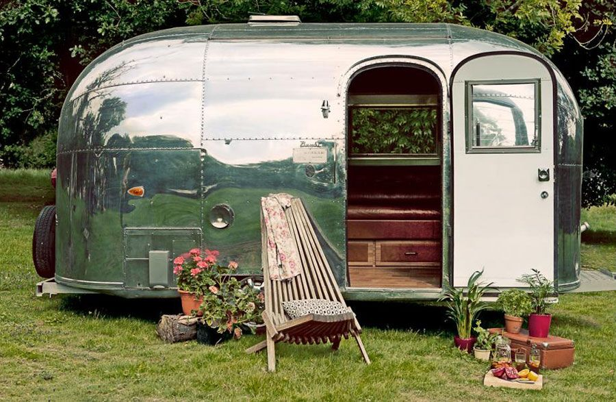 Restored Airstream Bambi With Images Airstream Trailers