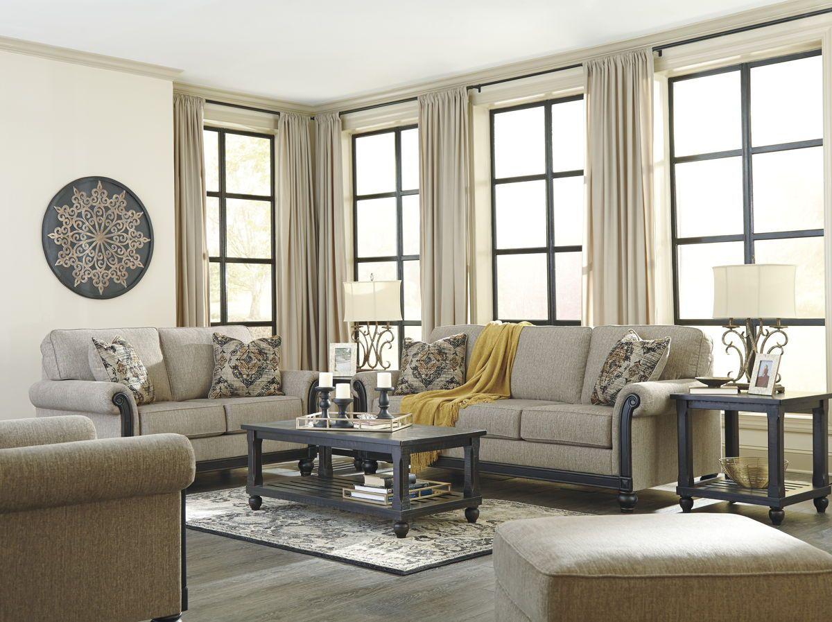 Blackwood Traditional Taupe Fabric Living Room Set Taupe Living Room Living Room Sets Furniture #taupe #living #room #set