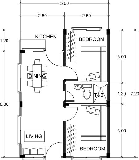 single attached house FLOOR PLAN - Bing Images arquitectura