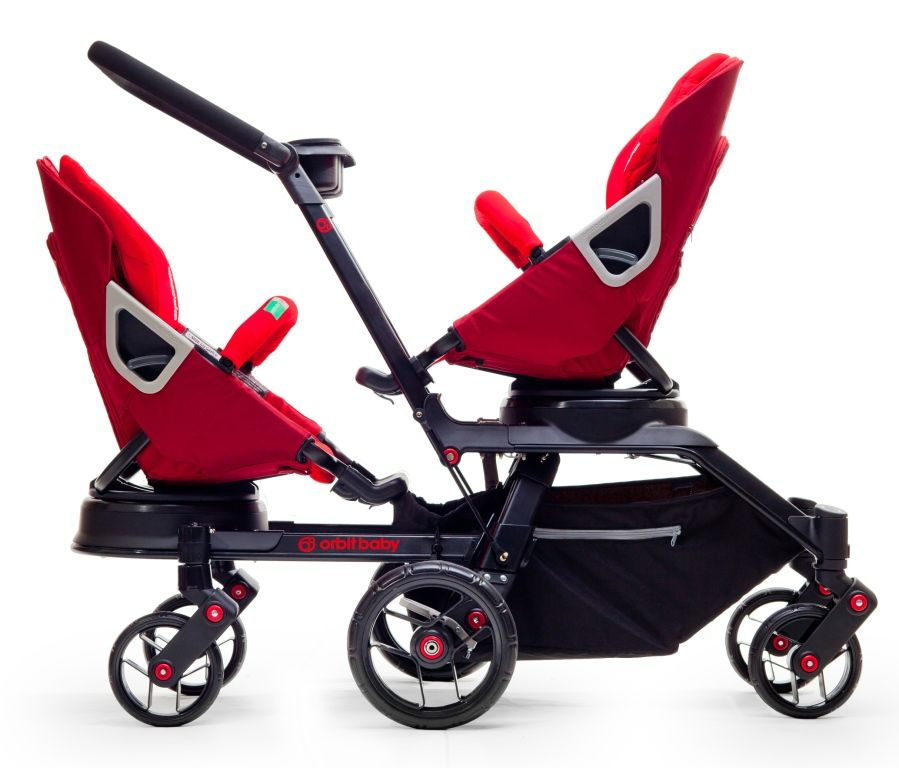 Orbit Introduces Double Stroller: Orbit Baby Double Helix | Maybe ...