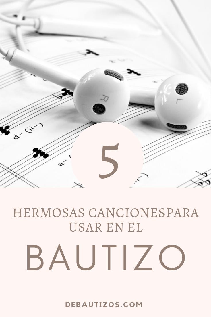 5 Lindas Canciones Para Los Hijos En Su Bautizo De Bautizos Bautizo Temas Musicales Canciones