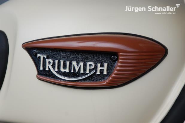 Umgebautes Motorrad Triumph Adventurer von Jürgen Schnaller - 1000PS.at