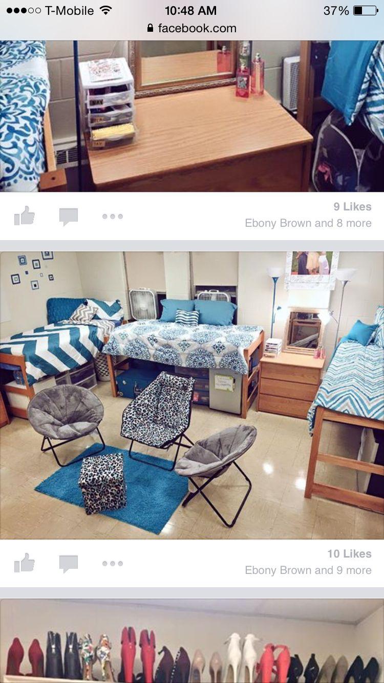 Triple Dorm Room