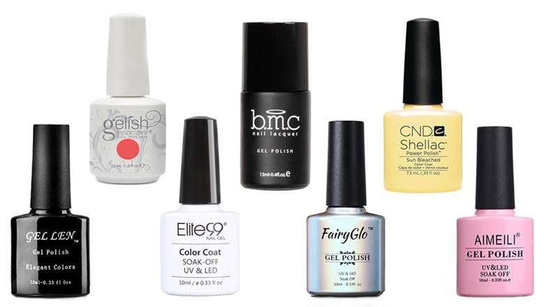 Top 10 Best Gel Nail Polish Brands Gel Polish Brands Nail Polish Brands Best Gel Nail Polish