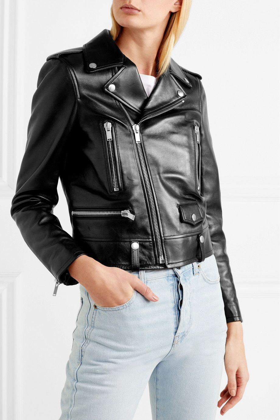 Saint Laurent Perfecto leather biker jacket 4,990