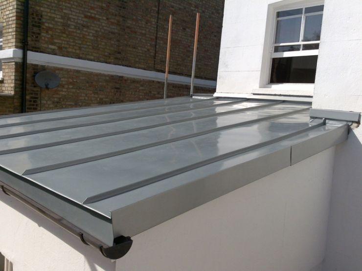 Best Flat Zinc Roof Overhang Google Search Modern Roofing 400 x 300