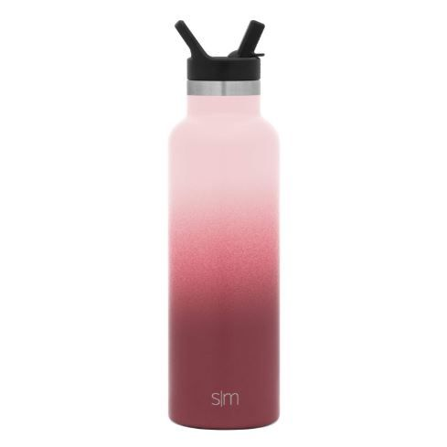 Simple Modern 20oz Ascent Water Bottle With Straw Lid Stainless Steel Hydro Tumbler Flask Double Wall Vacuum In In 2020 Water Bottle Bottle Water Bottle With Straw