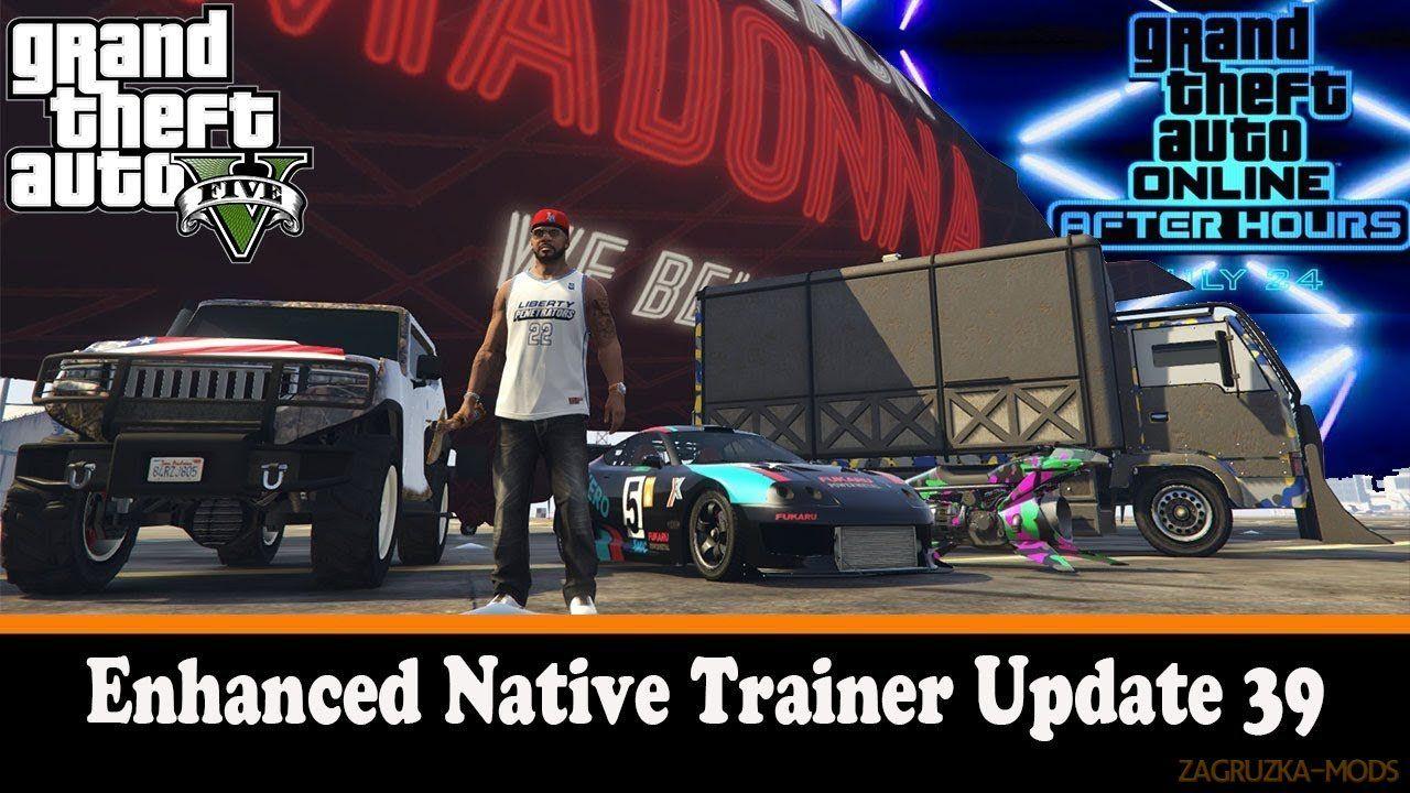 Enhanced native trainer v42 for gta 5