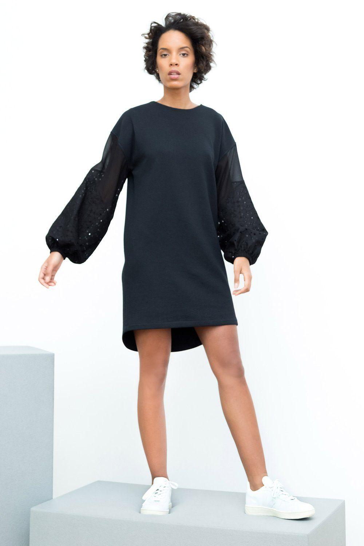 30d9950e3a4 Focus sur la robe Nebula N   Conçue à partir de maille en coton BIO cultivé  en Turquie