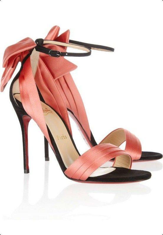 Coral wedding shoes Keywords weddings jevelweddingplanning