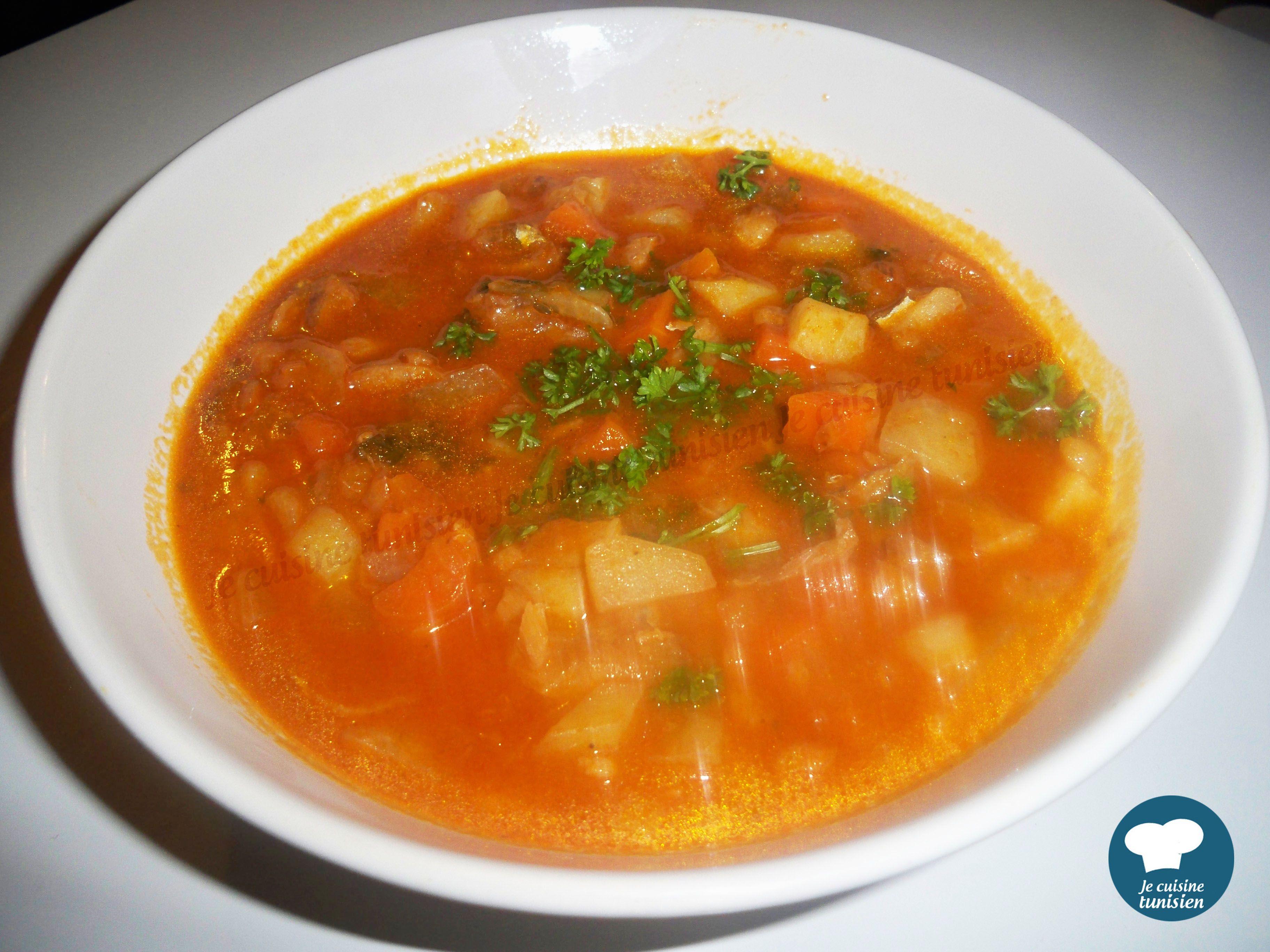 Broudou recette tunisienne recettes pinterest food - Cuisine tunisienne mloukhia ...