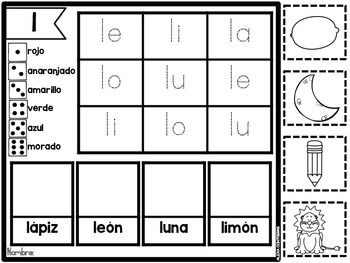 Sílabas Por Siempre Syllables And Words In Spanish Cvc Word Families Cvc Words Word Families