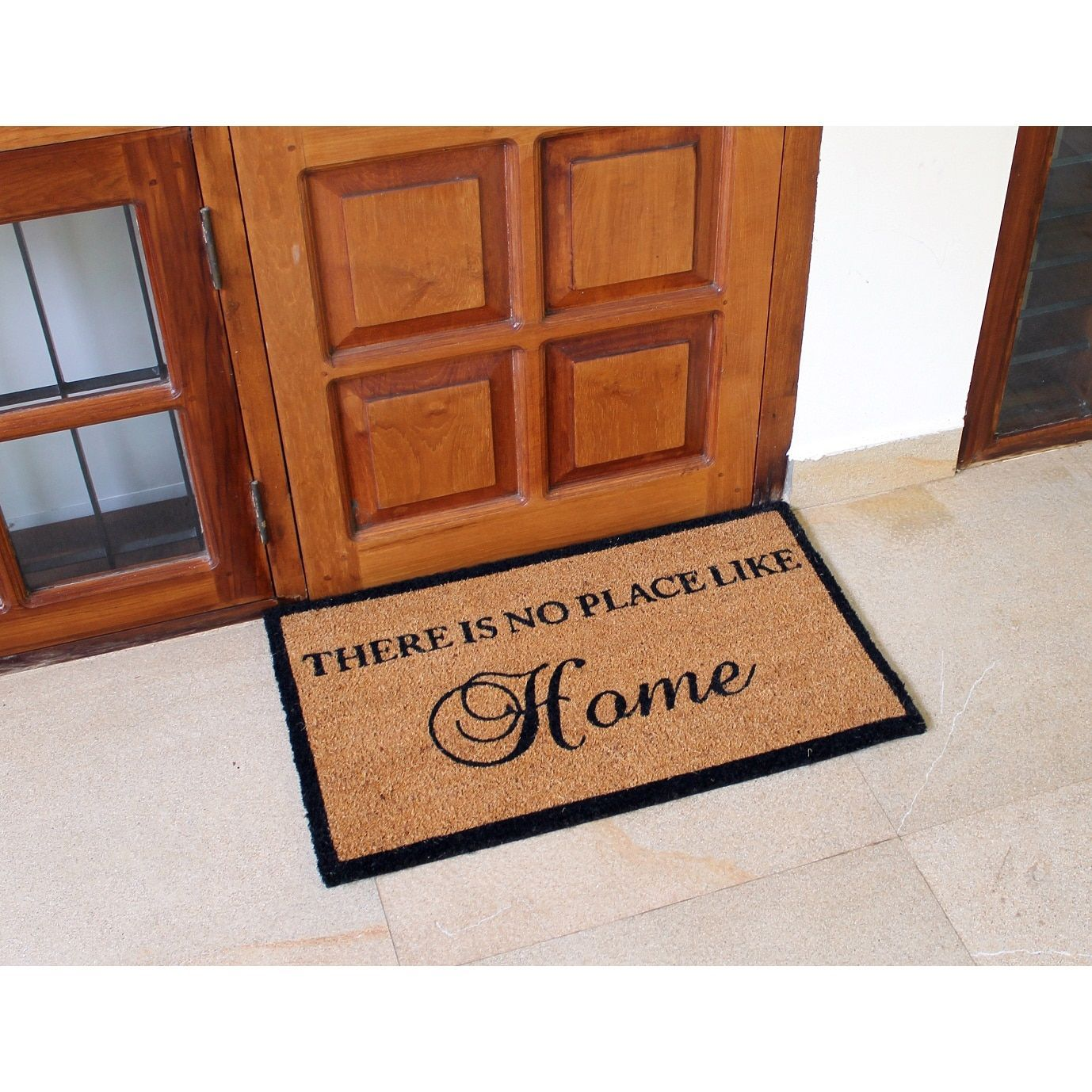 Dynamic Rugs Machine Woven Vale Ivory 100 Natural Coir Doormat