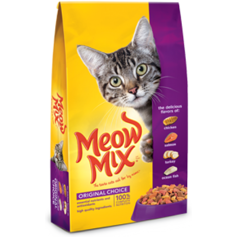 This cat food provides the extra nutrition needed by