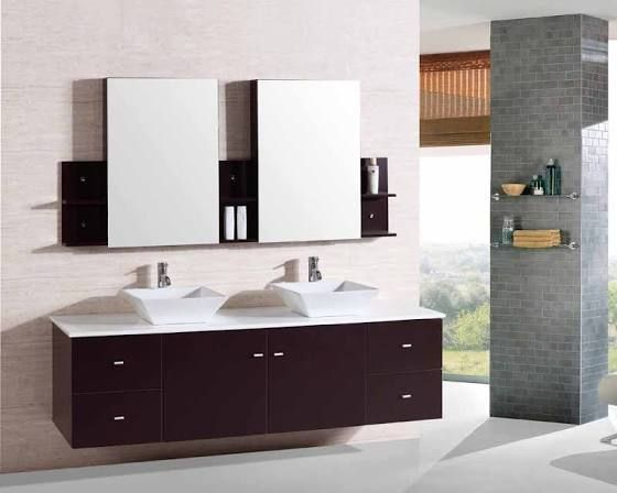 Floating Sink Vanity Floating Bathroom Vanities Double Vanity Bathroom Contemporary Bathroom Vanity
