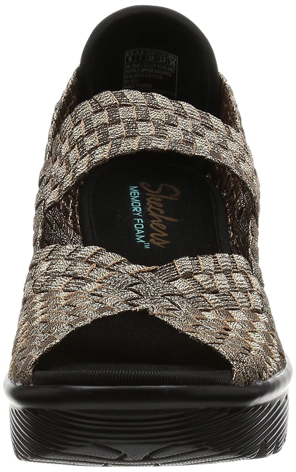 8762e6984f39 Skechers Cali Women s Parallel Weave It Be Wedge Sandal     Be sure to check