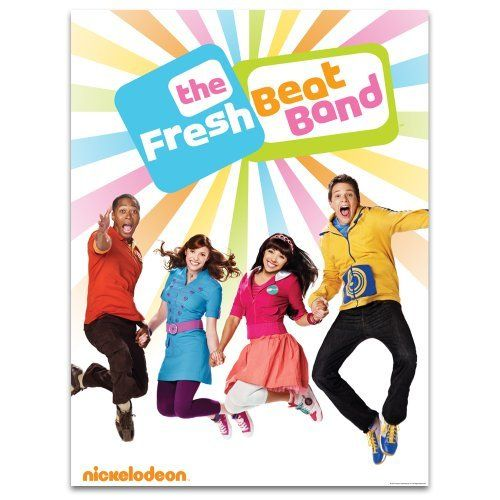 Fresh Beat Band Jumping Cast Poster Personalized