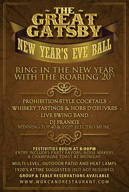 The Great Gatsby New Years Eve Ball 2013 Tickets Santa Monica – Great Gatsby Party Invitation