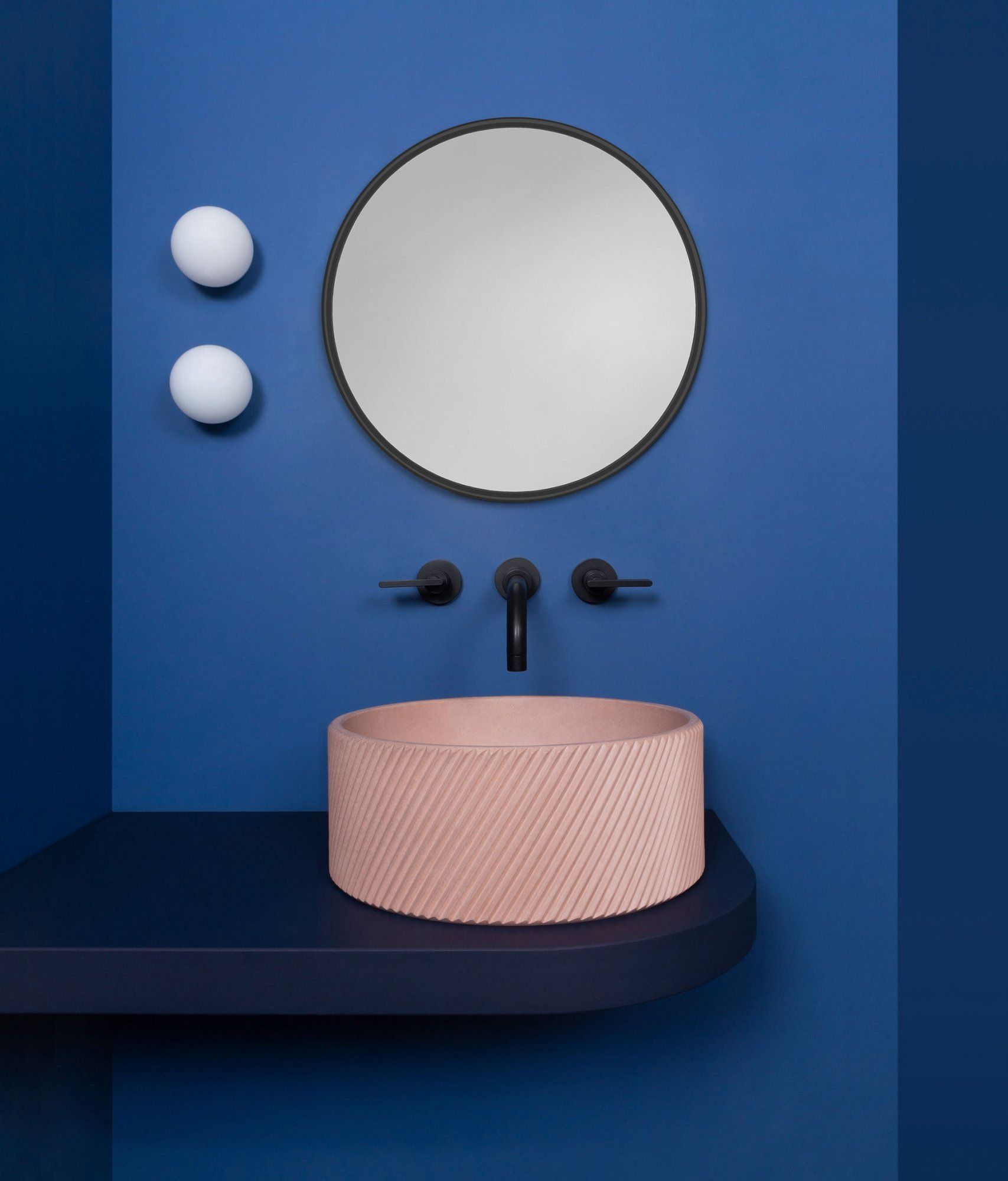 Colour In The Bathroom With Kast At Home In 2019