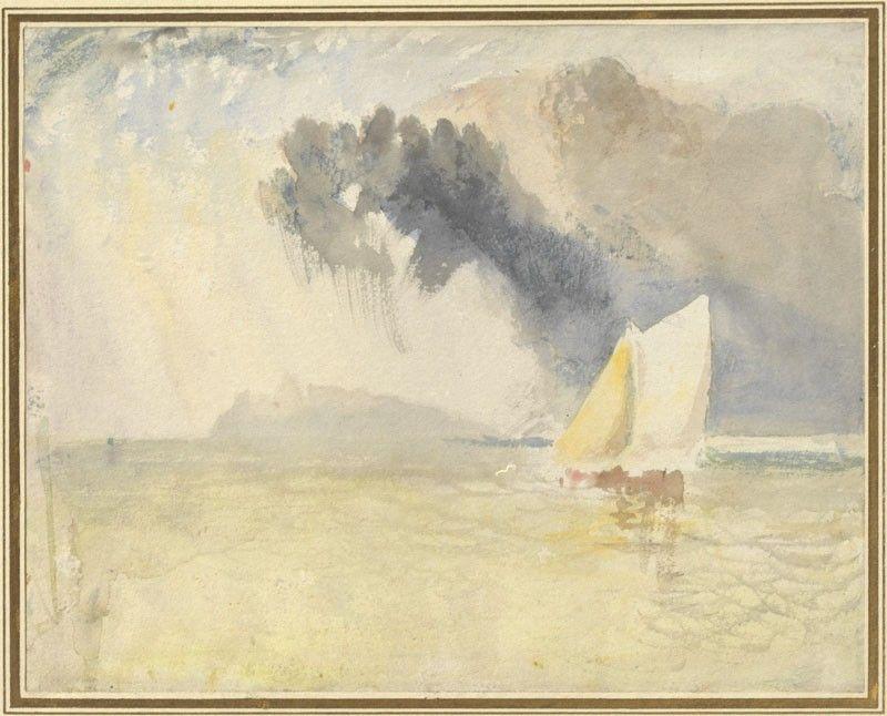 Cloud and Sunlight at Sea Joseph Mallord William Turner, c.1825 © University of Oxford - Ashmolean Museum